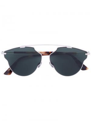 Солнцезащитные очки Soreal Pop Dior Eyewear. Цвет: коричневый