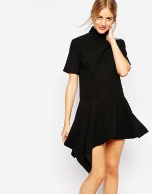 C/meo Collective Черное платье Take Back. Цвет: черный