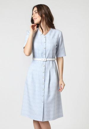Платье Lova. Цвет: голубой