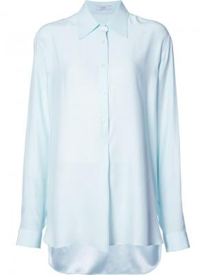 Рубашка Charmeuse Oversized Tome. Цвет: зелёный