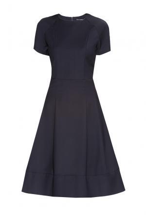 Платье из вискозы 182605 Paola Morena. Цвет: синий