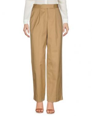 Повседневные брюки MULLER of YOSHIO KUBO. Цвет: хаки