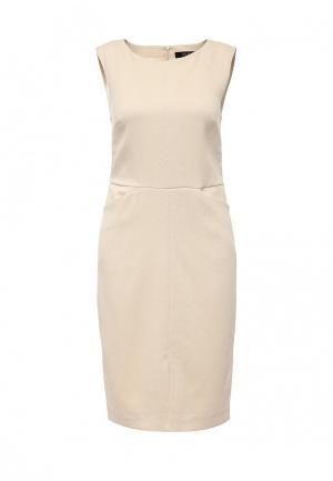 Платье Top Secret. Цвет: бежевый