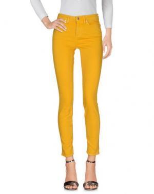 Джинсовые брюки ACNE STUDIOS. Цвет: охра