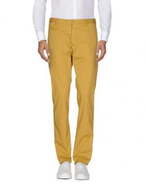 Повседневные брюки ALTEA. Цвет: охра