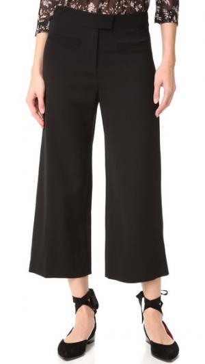 Укороченные широкие брюки Lee Veronica Beard. Цвет: голубой