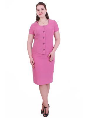 Жакет Regina Style. Цвет: бледно-розовый