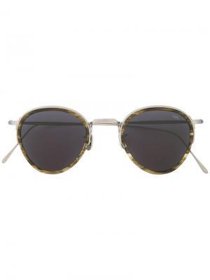 Aviator sunglasses Eyevan7285. Цвет: металлический