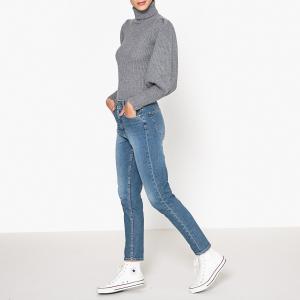 Пуловер-водолазка KRISSY BA&SH. Цвет: серый,темно-синий
