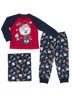 Пижама CHICCO. Цвет: красный
