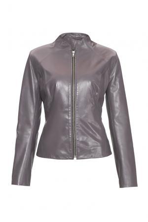 Кожаная куртка 151976 Izeta. Цвет: фиолетовый