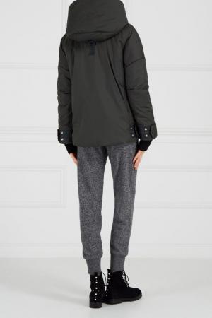 Меланжевые брюки из кашемира Addicted. Цвет: серый