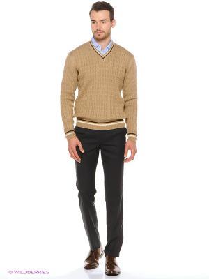 Пуловер JB casual. Цвет: темно-бежевый
