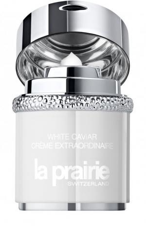 Увлажняющий крем для лица и шеи White Caviar Creme Extraordinaire La Prairie. Цвет: бесцветный