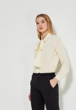 Блуза Devur. Цвет: желтый