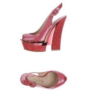 Сандалии ENIO SILLA for LE. Цвет: пурпурный