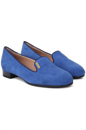 Туфли Donna Serena. Цвет: синий