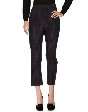 Повседневные брюки ISA ARFEN. Цвет: красно-коричневый