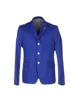 Пиджак M.GRIFONI DENIM. Цвет: синий