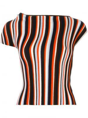 Блузка в полоску Jacquemus. Цвет: многоцветный