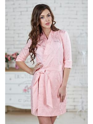 Халат женский AnGela. Цвет: розовый