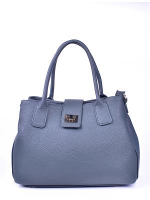 Сумка RENEE KLER. Цвет: серый, серо-голубой