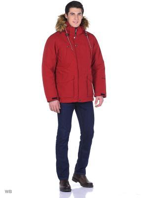 Куртка Rukka. Цвет: красный