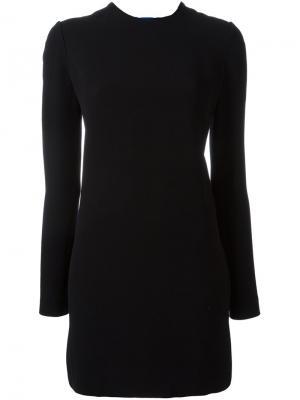 Платье мини Victoria Beckham. Цвет: чёрный