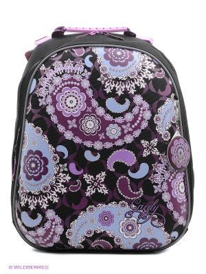 Рюкзак Grizzly. Цвет: фиолетовый