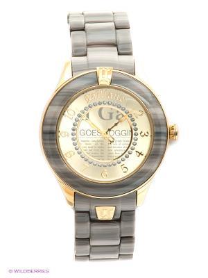 Часы Galliano. Цвет: серый