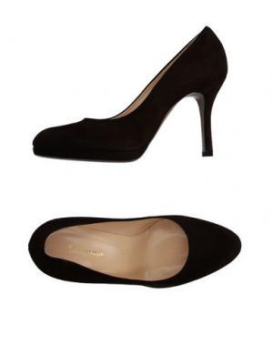 Туфли CAMPANILE. Цвет: темно-коричневый