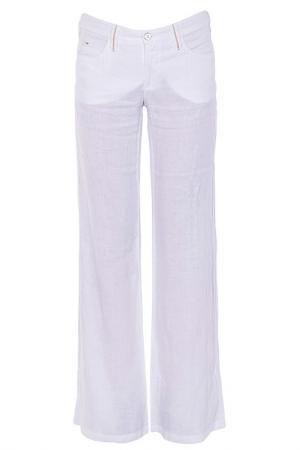 Брюки Armani Jeans. Цвет: белый