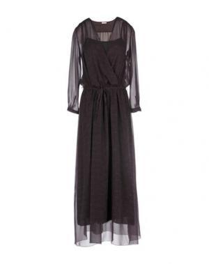 Длинное платье GOLD CASE. Цвет: фиолетовый