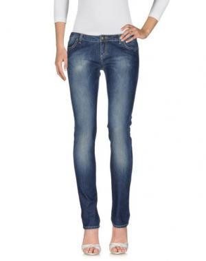 Джинсовые брюки RICHARD JAMES BROWN. Цвет: синий