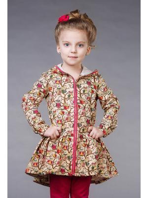 Куртка-ветровка Alisia Fiori. Цвет: бежевый, фуксия, оранжевый, розовый, желтый, белый, черный, зеленый, коричневый, малиновый, фиолетовый