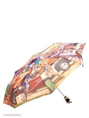 Зонт Eleganzza. Цвет: бежевый, красный, голубой