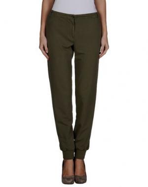 Повседневные брюки ATHLETIC VINTAGE. Цвет: зеленый-милитари
