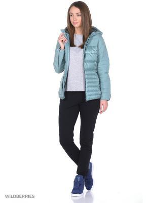 Куртка COZY DOWN JKT Adidas. Цвет: серый