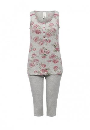 Пижама Relax Mode. Цвет: серый