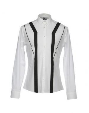Pубашка URBAN LES HOMMES. Цвет: белый