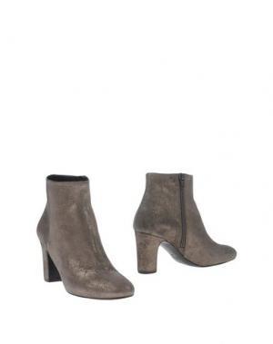 Полусапоги и высокие ботинки ANDREA CATINI. Цвет: свинцово-серый