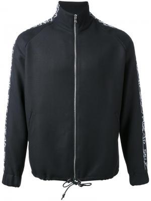 Спортивная куртка на молнии Selfmade By Gianfranco Villegas. Цвет: чёрный