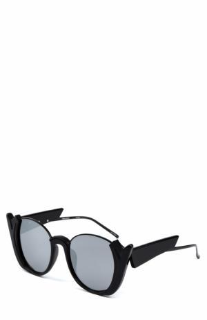 Солнцезащитные очки Prabal Gurung. Цвет: черный