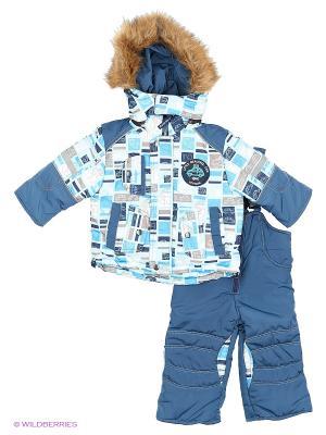 Комплект для мальчика Rusland. Цвет: серо-голубой
