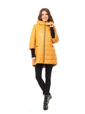 Пальто Best&Best. Цвет: горчичный