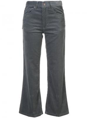 Укороченные расклешенные джинсы Marc Jacobs. Цвет: серый