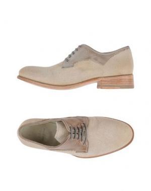 Обувь на шнурках N.D.C. MADE BY HAND. Цвет: бежевый