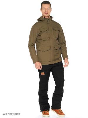 Куртка DC Shoes. Цвет: зеленый