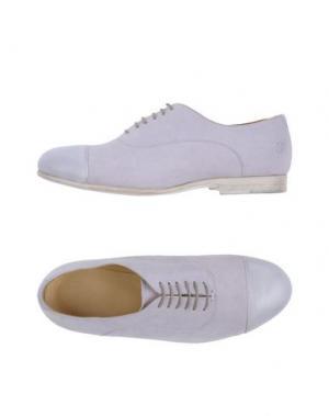 Обувь на шнурках SARTORI GOLD. Цвет: сиреневый