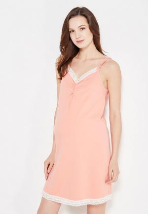 Сорочка ночная Фэст. Цвет: оранжевый